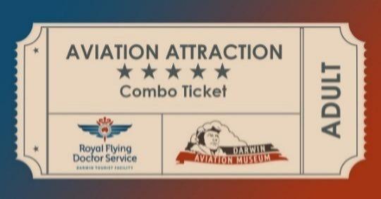 Entry to RFDS Darwin Tourist Facility & Darwin Aviation Museum